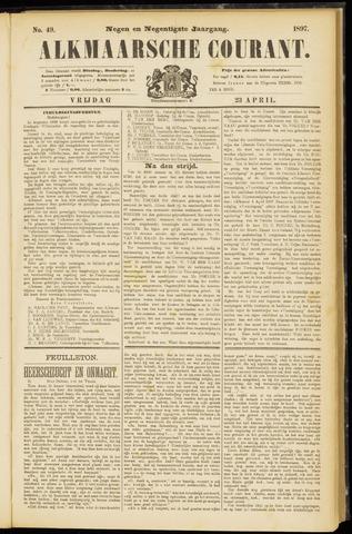 Alkmaarsche Courant 1897-04-23