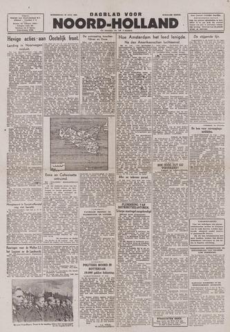 Dagblad Noord-Holland, Schager editie 1943-07-22
