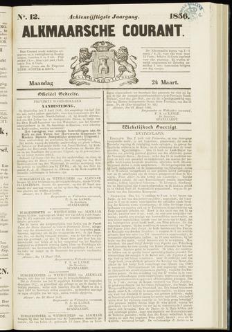 Alkmaarsche Courant 1856-03-24