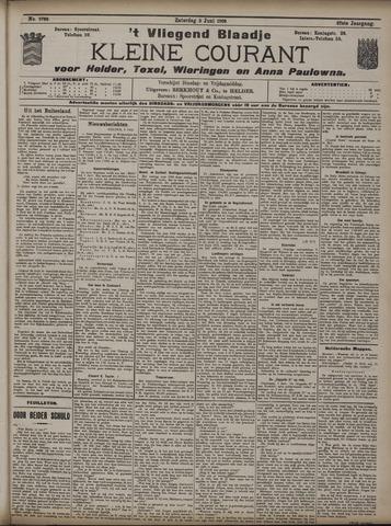 Vliegend blaadje : nieuws- en advertentiebode voor Den Helder 1909-06-05