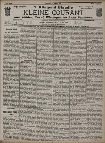 Vliegend blaadje : nieuws- en advertentiebode voor Den Helder 1909-03-13