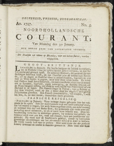 Noordhollandsche Courant 1797-01-30