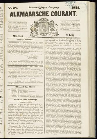 Alkmaarsche Courant 1855-07-09