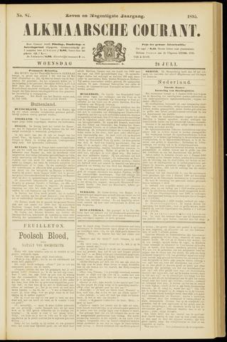 Alkmaarsche Courant 1895-07-24