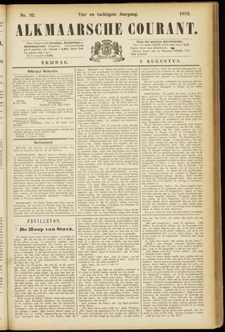 Alkmaarsche Courant 1882-08-04