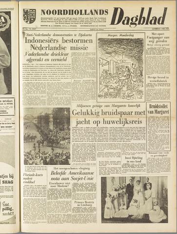 Noordhollands Dagblad : dagblad voor Alkmaar en omgeving 1960-05-07