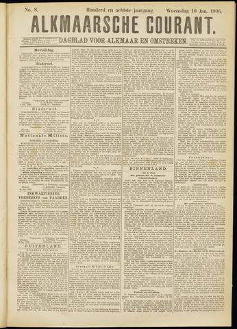 Alkmaarsche Courant 1906-01-10
