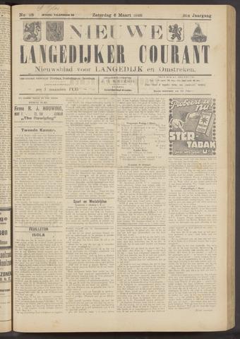 Nieuwe Langedijker Courant 1926-03-06