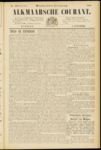 Alkmaarsche Courant 1898-10-09