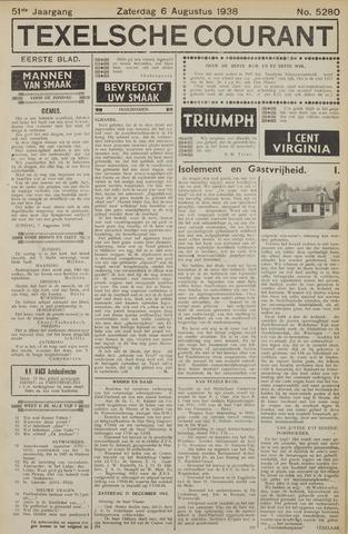 Texelsche Courant 1938-08-06