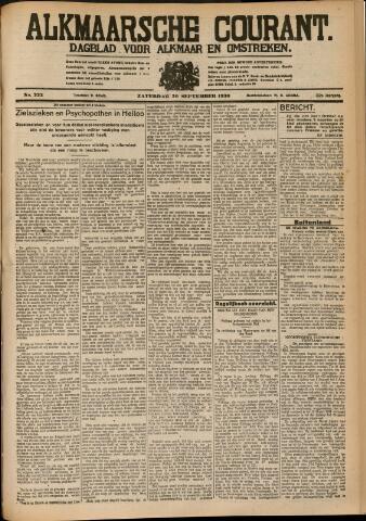 Alkmaarsche Courant 1930-09-20