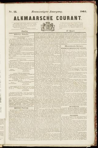 Alkmaarsche Courant 1864-03-27