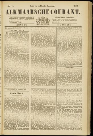Alkmaarsche Courant 1886-01-31