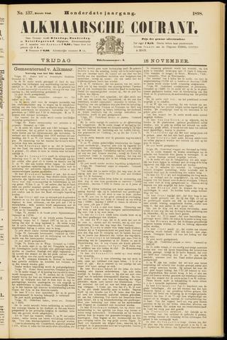 Alkmaarsche Courant 1898-11-18