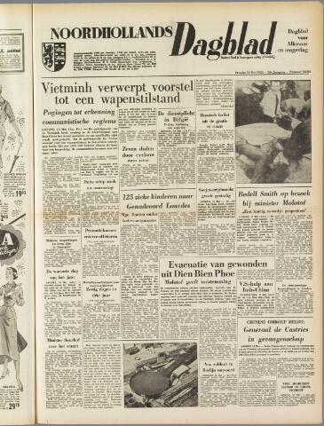 Noordhollands Dagblad : dagblad voor Alkmaar en omgeving 1954-05-11