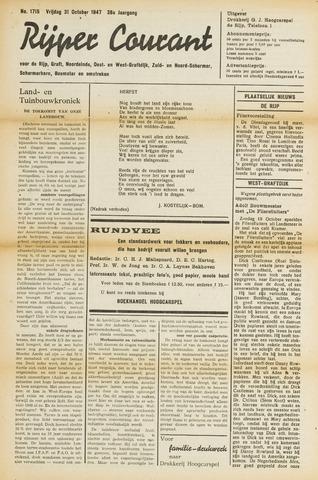 Rijper Courant 1947-10-31