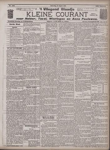 Vliegend blaadje : nieuws- en advertentiebode voor Den Helder 1913-04-19