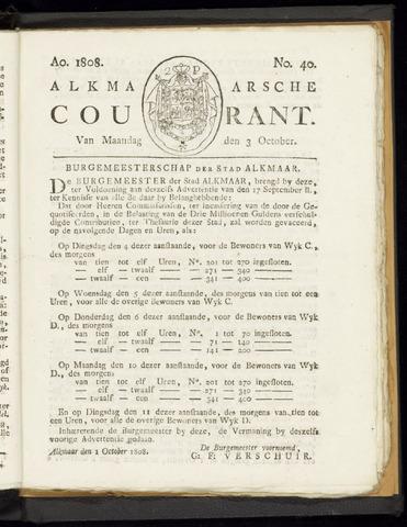 Alkmaarsche Courant 1808-10-03