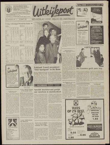 Uitkijkpost : nieuwsblad voor Heiloo e.o. 1991-03-13