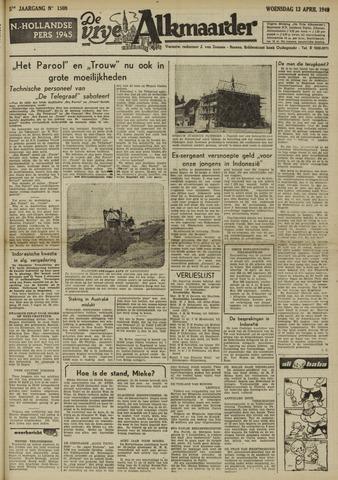 De Vrije Alkmaarder 1949-04-13