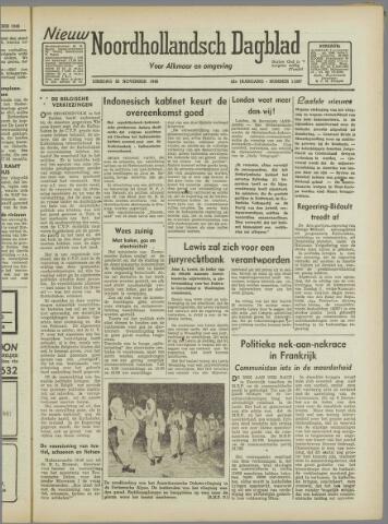 Nieuw Noordhollandsch Dagblad : voor Alkmaar en omgeving 1946-11-26
