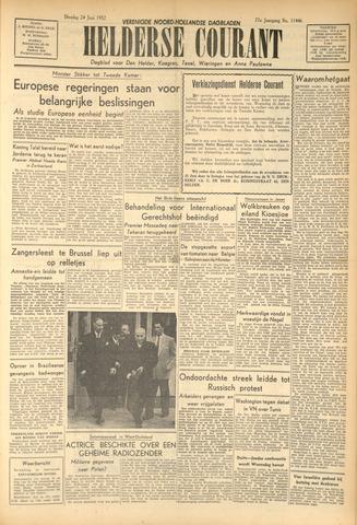 Heldersche Courant 1952-06-24