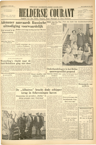 Heldersche Courant 1955-06-09