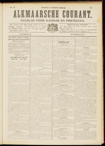 Alkmaarsche Courant 1911-02-18