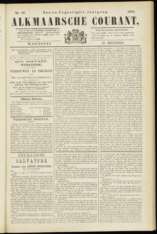Alkmaarsche Courant 1889-08-21