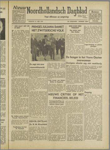 Nieuw Noordhollandsch Dagblad : voor Alkmaar en omgeving 1946-05-21