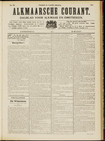 Alkmaarsche Courant 1910-03-24