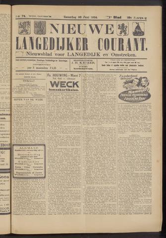Nieuwe Langedijker Courant 1924-06-28