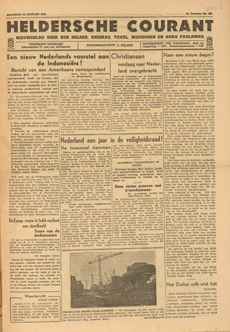 Heldersche Courant 1946-01-14