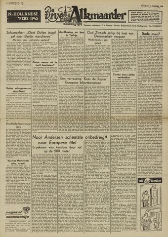De Vrije Alkmaarder 1950-02-06
