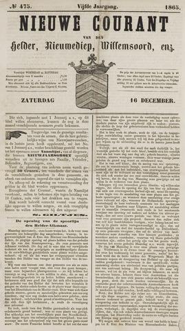 Nieuwe Courant van Den Helder 1865-12-16