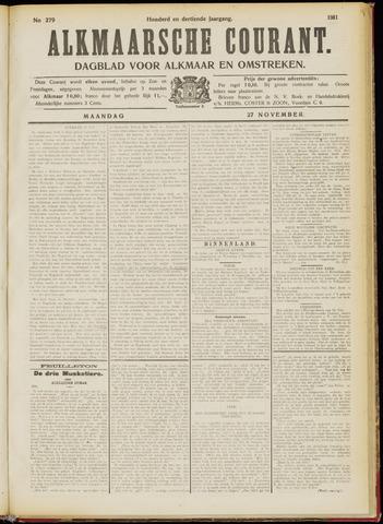 Alkmaarsche Courant 1911-11-27