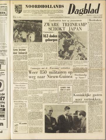 Noordhollands Dagblad : dagblad voor Alkmaar en omgeving 1962-05-04