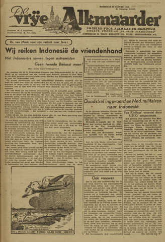 De Vrije Alkmaarder 1946-01-12