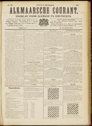 Alkmaarsche Courant 1909-08-27