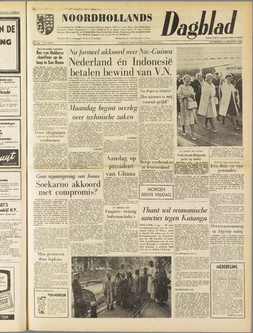 Noordhollands Dagblad : dagblad voor Alkmaar en omgeving 1962-08-02