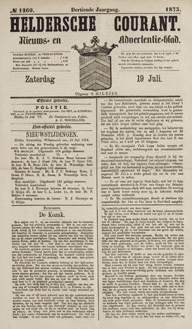 Heldersche Courant 1873-07-19