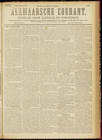 Alkmaarsche Courant 1916-11-28