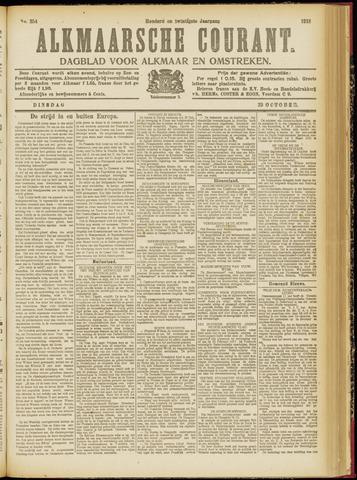 Alkmaarsche Courant 1918-10-29