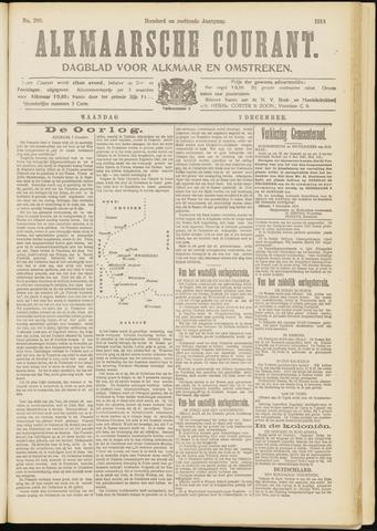 Alkmaarsche Courant 1914-12-07