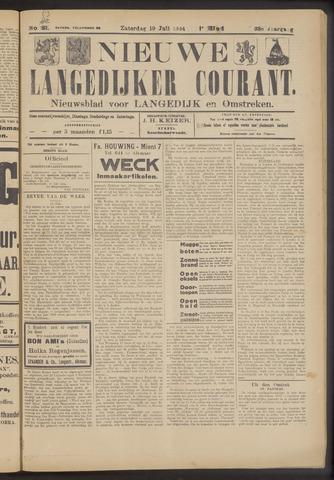 Nieuwe Langedijker Courant 1924-07-19