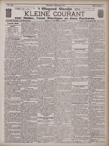 Vliegend blaadje : nieuws- en advertentiebode voor Den Helder 1913-11-05
