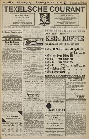 Texelsche Courant 1931-11-14