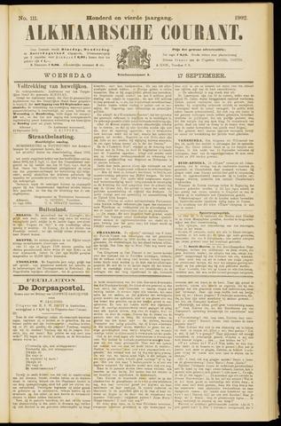 Alkmaarsche Courant 1902-09-17