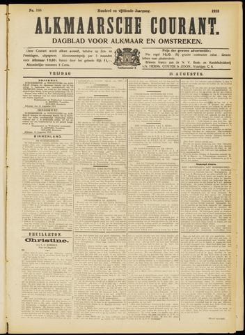 Alkmaarsche Courant 1913-08-15