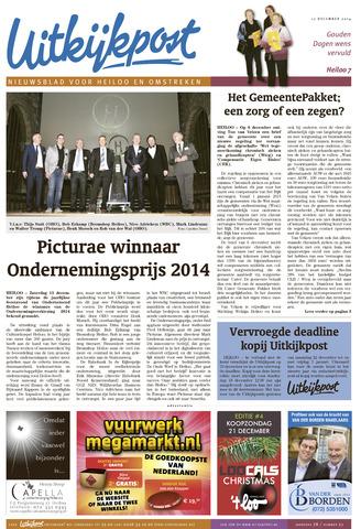 Uitkijkpost : nieuwsblad voor Heiloo e.o. 2014-12-17